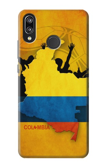 Printed Colombia Football Flag Huawei P20 Lite Case