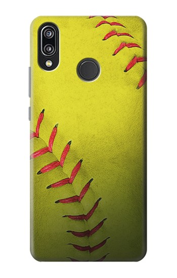 Printed Yellow Softball Ball Huawei P20 Lite Case