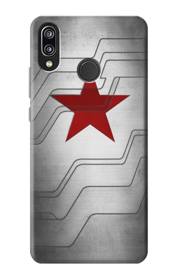 Printed Winter Soldier Bucky Arm Texture Huawei P20 Lite Case