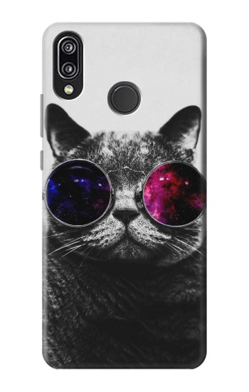 Printed Cool Cat Glasses Huawei P20 Lite Case