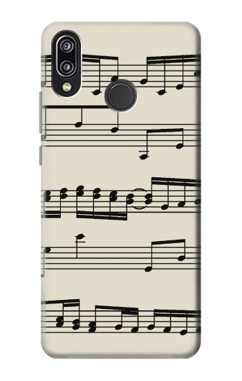 Printed Music Sheet Huawei P20 Lite Case
