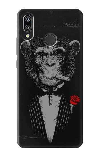 Printed Funny Monkey God Father Huawei P20 Lite Case