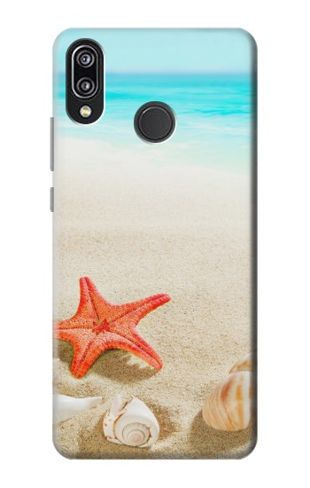 Printed Sea Shells Starfish Beach Huawei P20 Lite Case