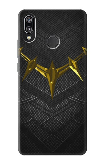 Printed Black Panther Inspired Costume Gold Necklace Huawei P20 Lite Case