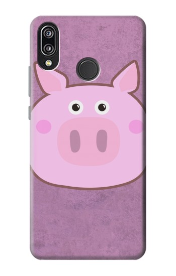 Printed Pig Cartoon Huawei P20 Lite Case