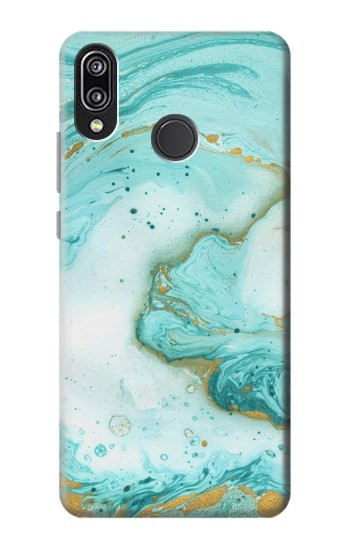 Printed Green Marble Graphic Print Huawei P20 Lite Case