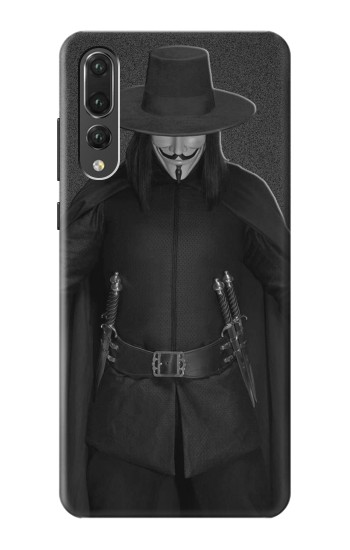 Printed V Mask Guy Fawkes Anonymous Huawei P20 Pro Case