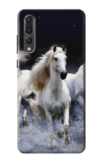 Printed White Horse Huawei P20 Pro Case