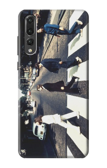 Printed The Beatles Abbey Road Huawei P20 Pro Case