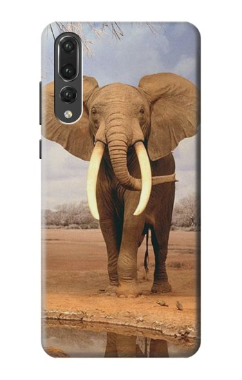 Printed African Elephant Huawei P20 Pro Case