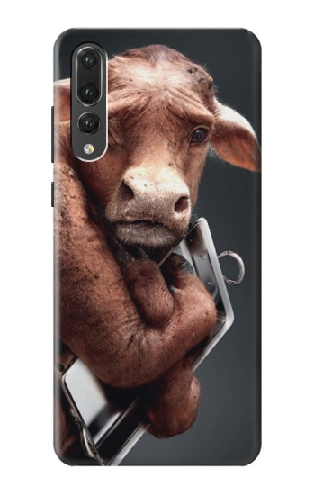 Printed Crazy Cow Huawei P20 Pro Case