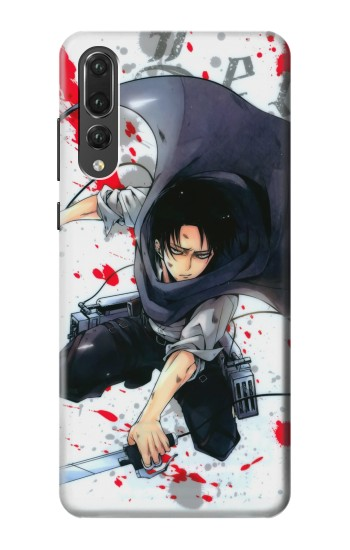 Printed Attack on Titan Rivaille Levi Huawei P20 Pro Case
