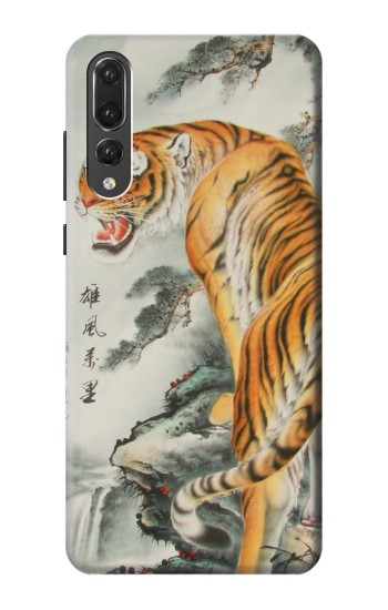 Printed Chinese Tiger Painting Huawei P20 Pro Case