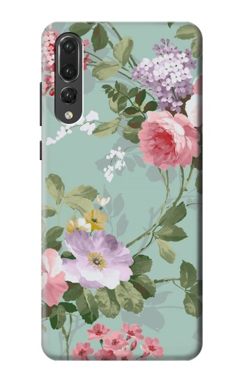 Printed Flower Floral Art Painting Huawei P20 Pro Case