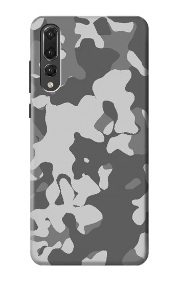 Printed Gray Camo Camouflage Graphic Printed Huawei P20 Pro Case