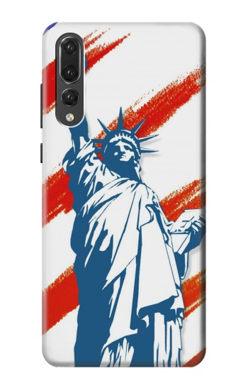 Printed Statue of Liberty United States Huawei P20 Pro Case