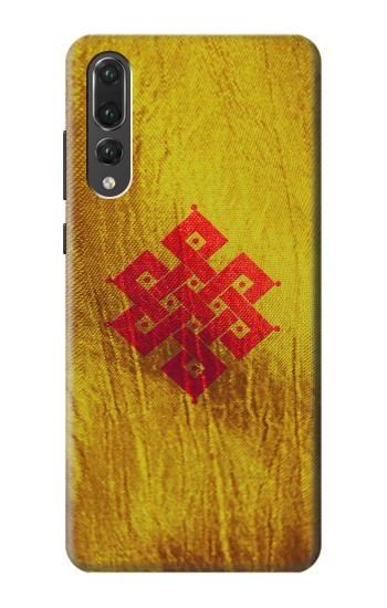 Printed Eternal Knot Unity Buddhist Spiritual Meditation Sign Huawei P20 Pro Case