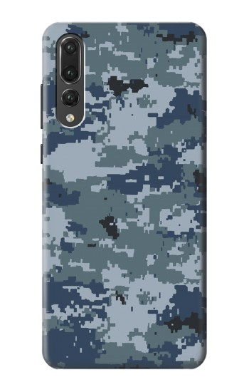 Printed Navy Camo Camouflage Graphic Huawei P20 Pro Case