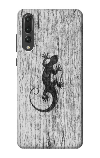 Printed Gecko Wood Graphics Printed Huawei P20 Pro Case