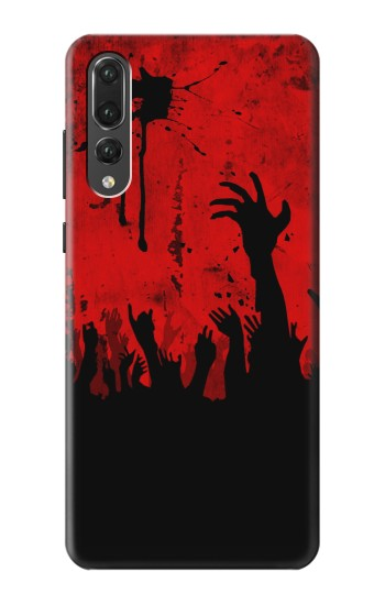 Printed Zombie Hands Huawei P20 Pro Case