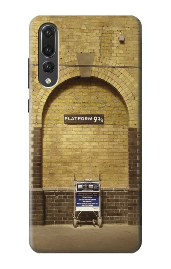 Printed Platform 934 London Railway Station Huawei P20 Pro Case