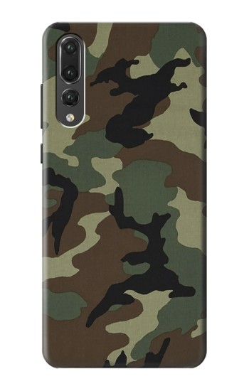 Printed Army Green Woodland Camo Huawei P20 Pro Case