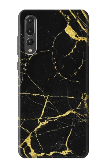 Printed Gold Marble Graphic Printed Huawei P20 Pro Case