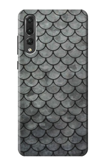 Printed Silver Fish Scale Huawei P20 Pro Case