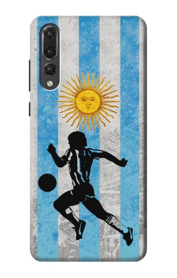 Printed Argentina Football Flag Huawei P20 Pro Case