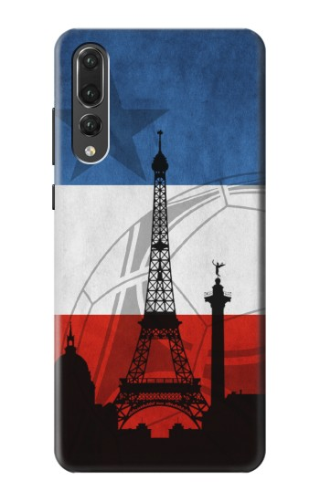 Printed France Football Flag Huawei P20 Pro Case