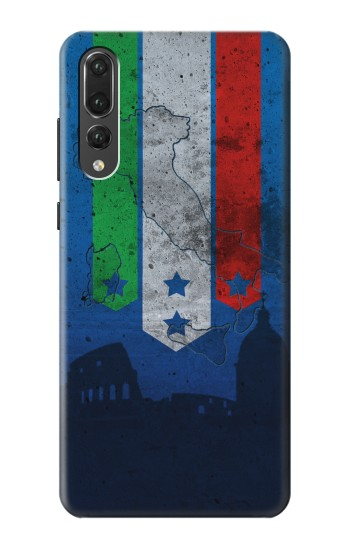 Printed Italy Football Flag Huawei P20 Pro Case