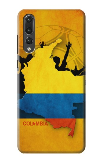 Printed Colombia Football Flag Huawei P20 Pro Case