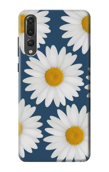 Printed Daisy Blue Huawei P20 Pro Case