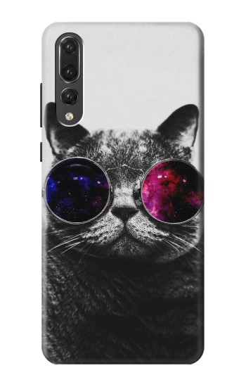 Printed Cool Cat Glasses Huawei P20 Pro Case