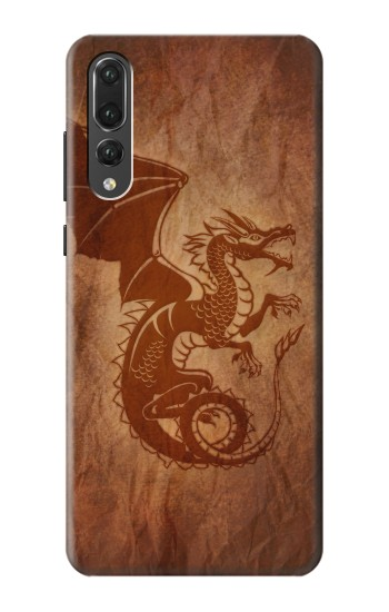 Printed Red Dragon Tattoo Huawei P20 Pro Case