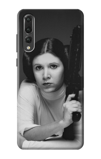 Printed Princess Leia Carrie Fisher Huawei P20 Pro Case