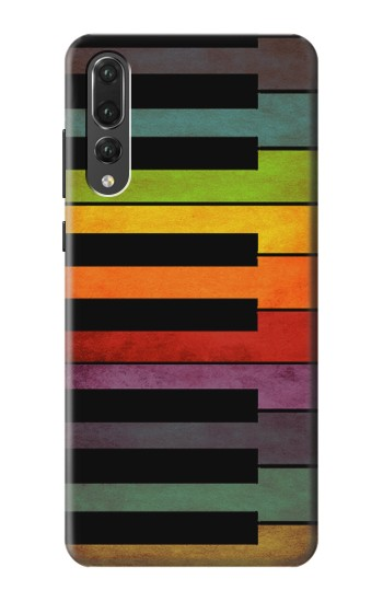 Printed Colorful Piano Huawei P20 Pro Case