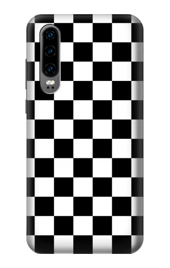 Printed Checkerboard Chess Board Huawei P30 Case