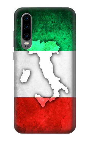 Printed Italy Flag Huawei P30 Case