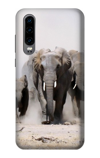 Printed African Elephant Huawei P30 Case