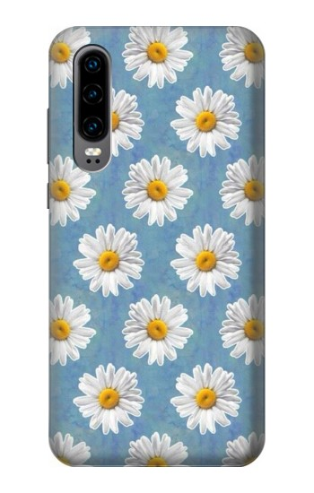 Printed Floral Daisy Huawei P30 Case