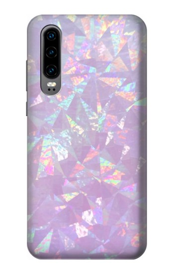 Printed Iridescent Holographic Photo Printed Huawei P30 Case