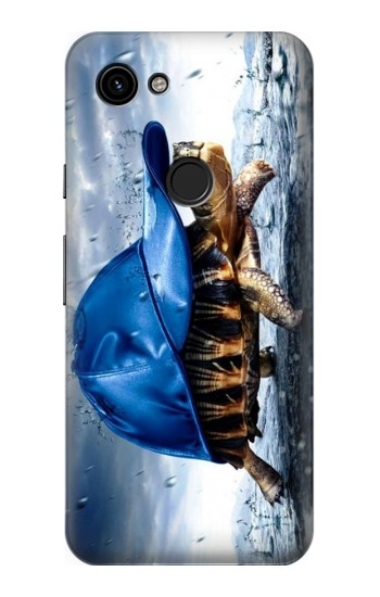 Printed Turtle in the Rain Google Pixel 3a Case