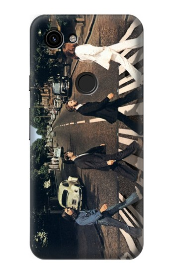 Printed The Beatles Abbey Road Google Pixel 3a Case