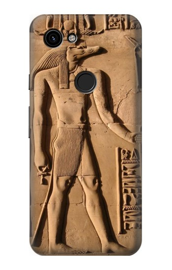 Printed Egyptian Anubis Google Pixel 3a Case