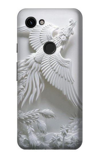 Printed Phoenix Carving Google Pixel 3a Case
