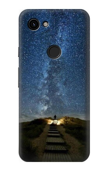 Printed Stairway to Heaven Iceland Google Pixel 3a Case