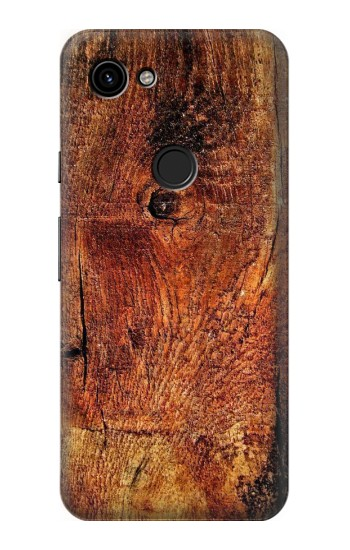 Printed Wood Skin Graphic Google Pixel 3a Case