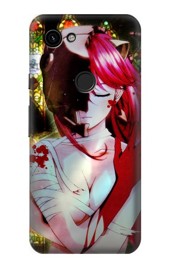 Printed Elfen Lied Lucy Google Pixel 3a Case