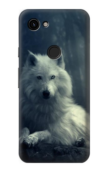 Printed White Wolf Google Pixel 3a Case